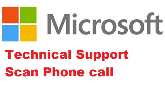 Technical Support Scan Phone call