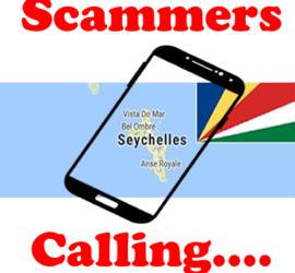 seychelles Scam Phone Call