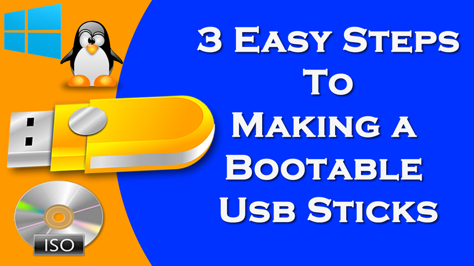 how to make iso file to usb bootable